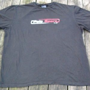 Polo Sport Ralph Lauren VTG Spell Out T Shirt Blk